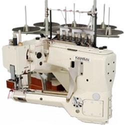 Плоскошовная промышленная машина KANSAI FSX-6604S-5 (для стачивания элементов детских колготок)